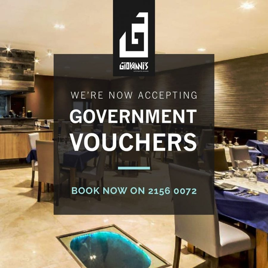 We are accepting Government Vouchers.